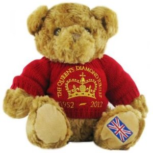 Queen Elizabeth Jubilee Teddy Bear