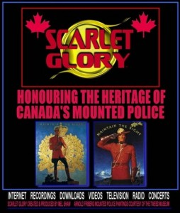 Honouring Canadian Mounties