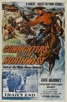 Classic Mountie Hollywood Movie Serial