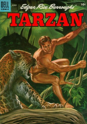 Tarzan Dell Comics 1955