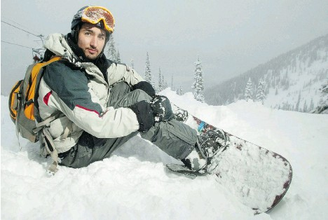 Justin Trudeau in our iconic Canadian Northcountry