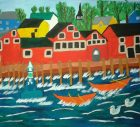 Mary Lee Burhoe Folk Art